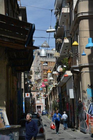 Athene_Psiri-Pittaki_straat
