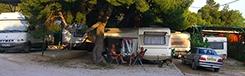Campings bij Athene